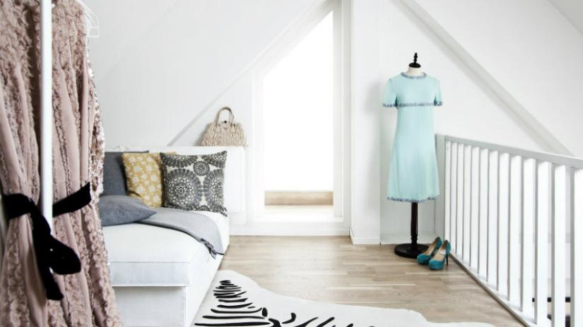 arredare una mansarda divano letto