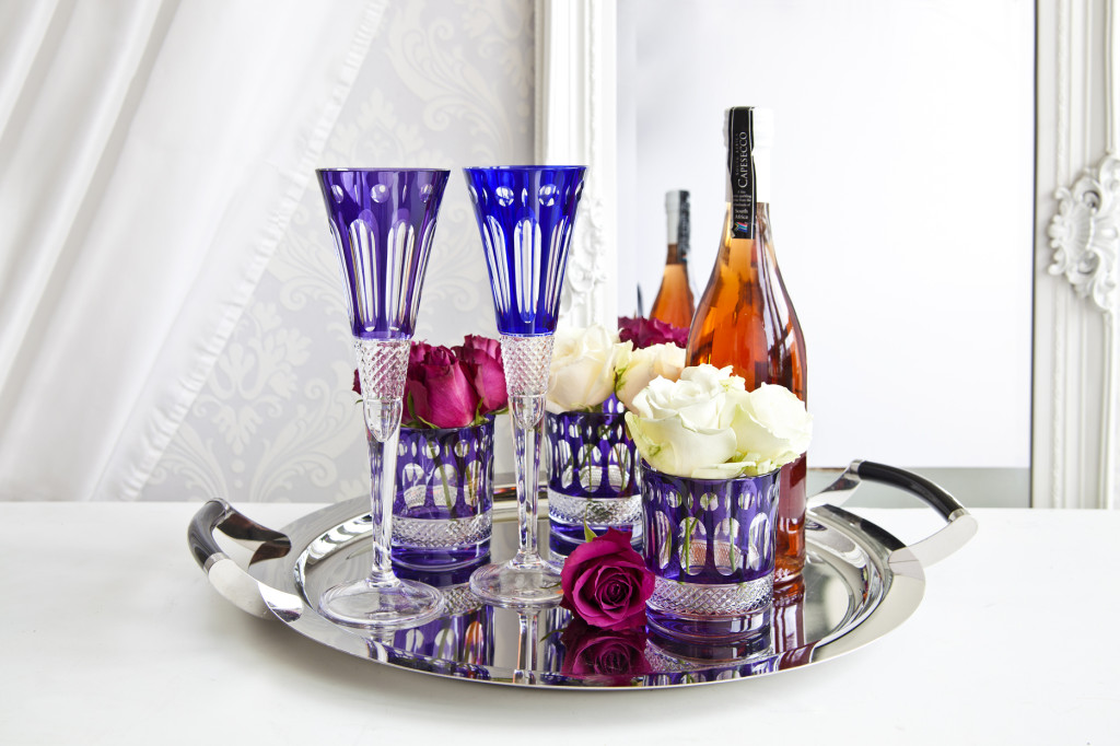 bicchieri blu da vino 15cl