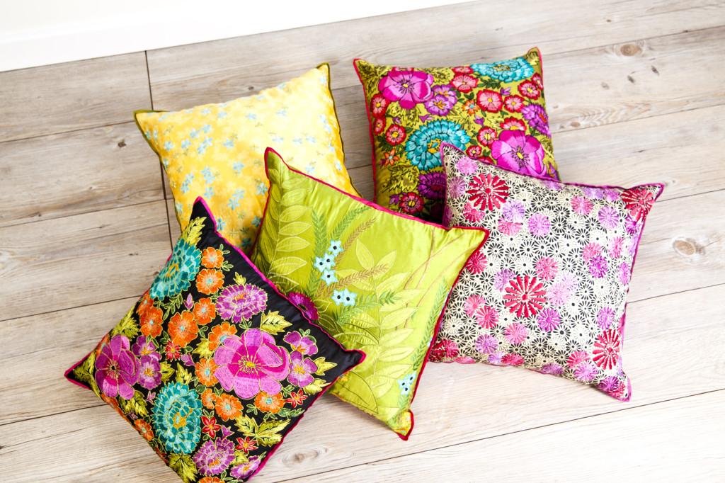Cuscini vintage morbidezze e comfort d 39 altri tempi - Federe cuscini divano ...