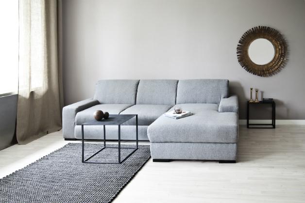 DALANI  Divano grigio: comfort e stile in salotto