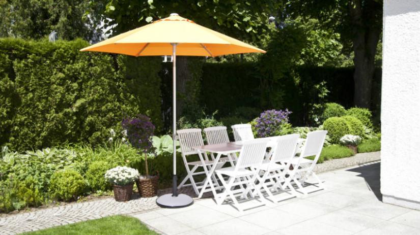 Tavoli da giardino pieghevoli per vivere l 39 outdoor - Sedie pieghevoli da giardino ...