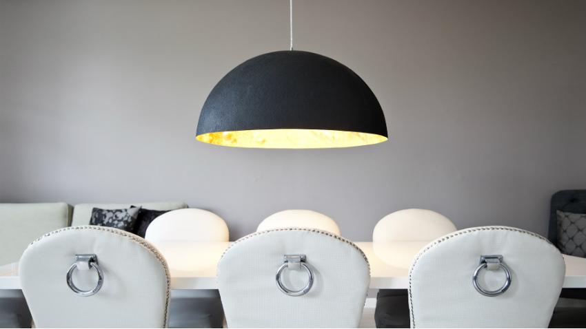 lampadario moderno per la cucina