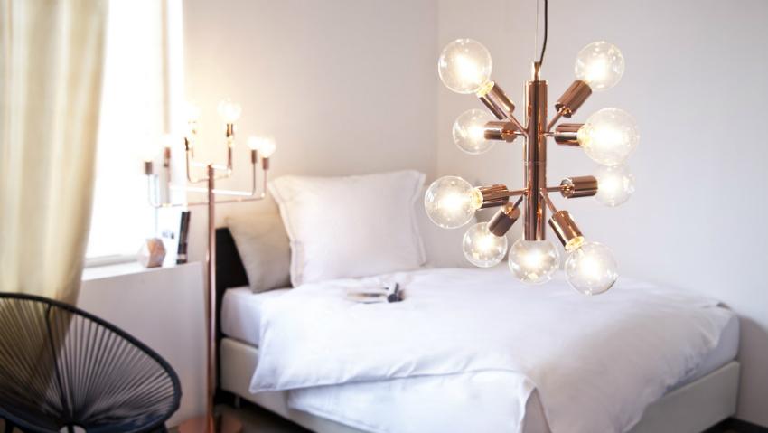 Lampadari moderni preziosi punti luce dalani e ora westwing - Lampadari colorati design ...