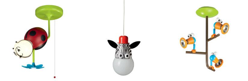 lampadari per bambini