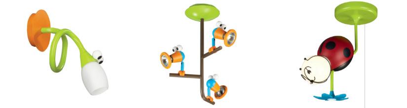 lampade per bambini da soffitto da parete