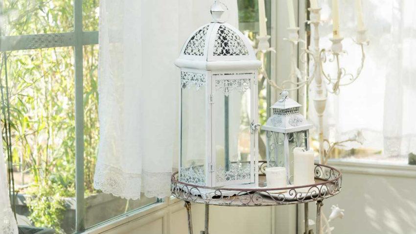 Lanterne da esterno romantica poesia dalani e ora westwing - Lanterne da esterno in ferro battuto ...