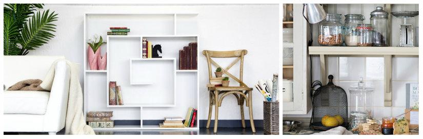Mensole in legno: pareti in ordine - Dalani e ora Westwing