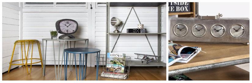 orologi da tavolo libreria in alluminio