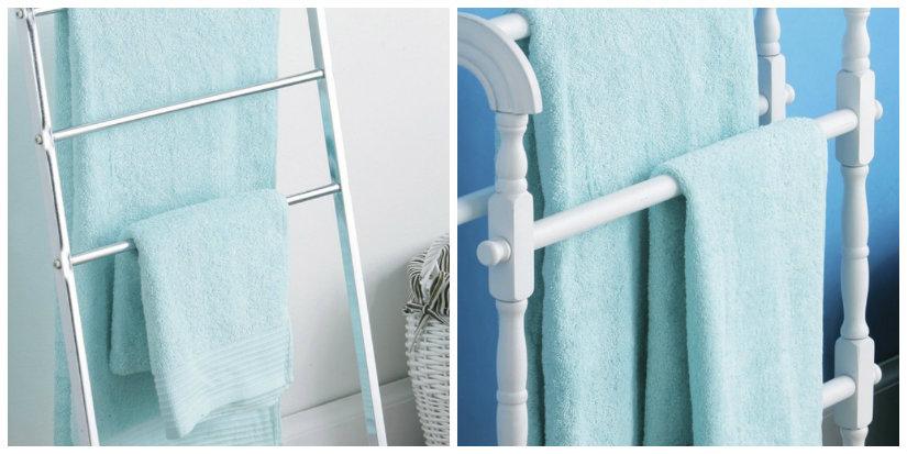 Piantana porta asciugamani utile e glamour dalani e ora - Mobili porta asciugamani bagno ...