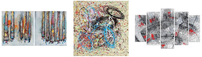 DALANI | Quadri astratti: arte per la casa