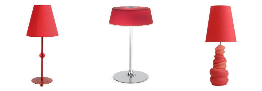 lampade rosse