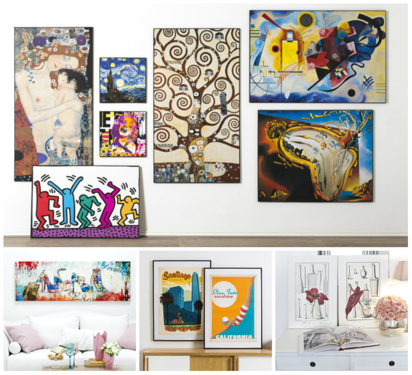 Stampe moderne appendi l 39 arte al muro dalani e ora westwing for Immagini astratte moderne