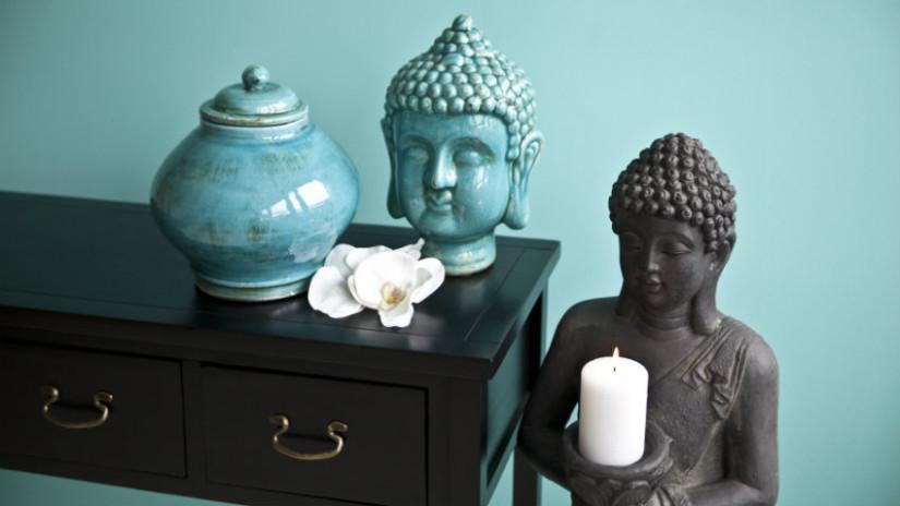statue in legno buddha