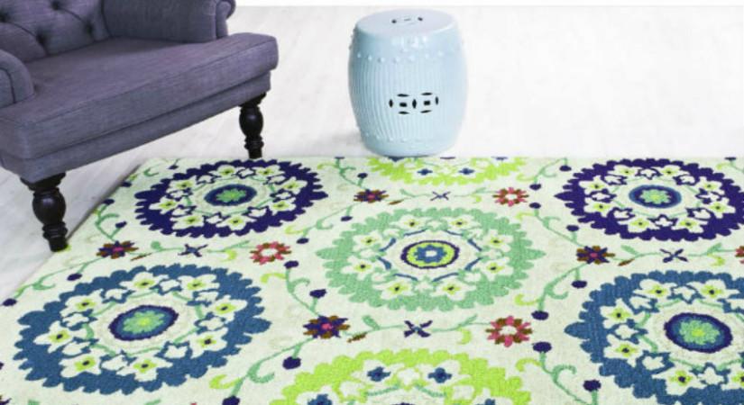 tappeto verde