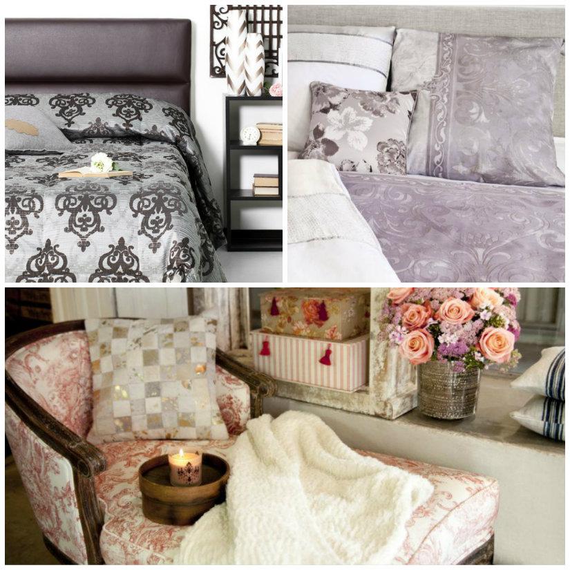 tessuti damascati chaise longue cuscini letto lenzuola