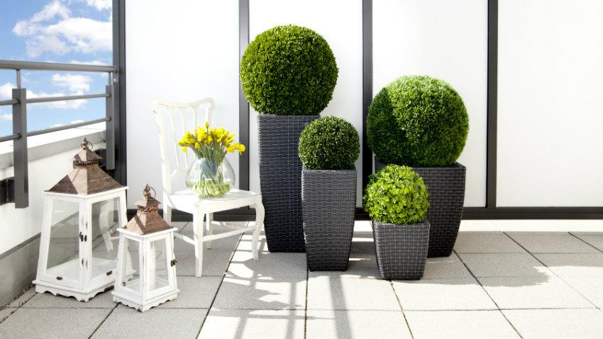 porta piante da esterno