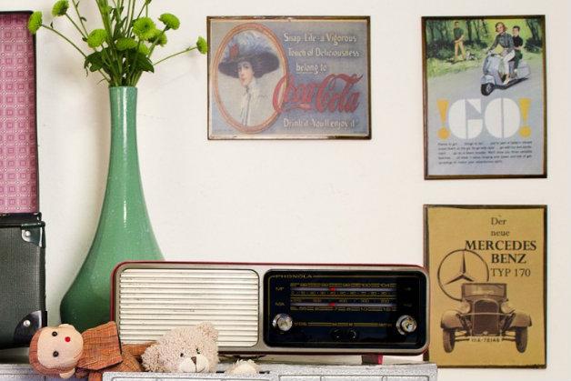 Camera Da Letto Vintage Anni 70 : Camera da letto vintage eleganza retrò dalani e ora westwing