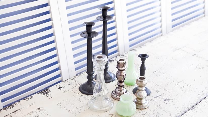 candeliere in argento e di design