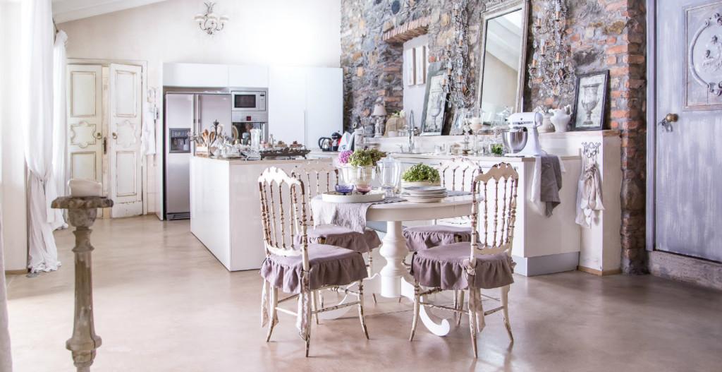 tavolo da cucina bianco