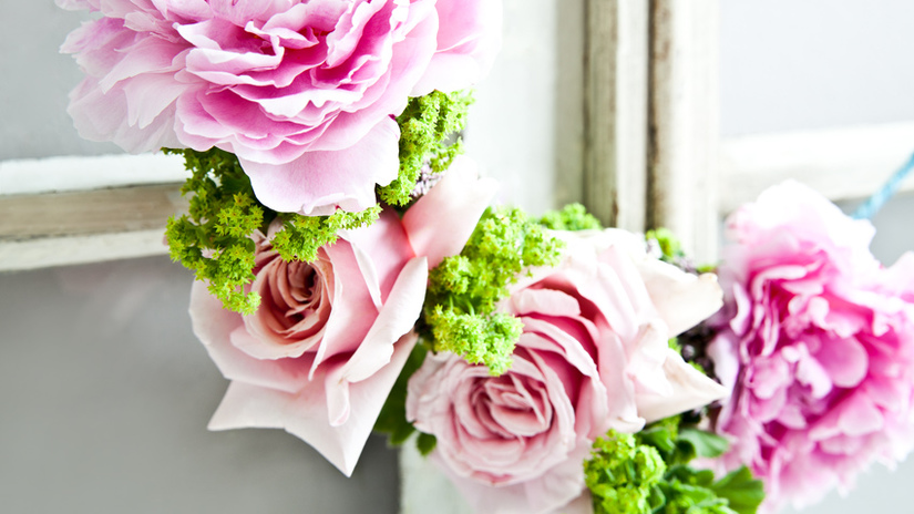 Ghirlande di pasqua decorazioni fai da te dalani e ora - Decorazioni primavera ...