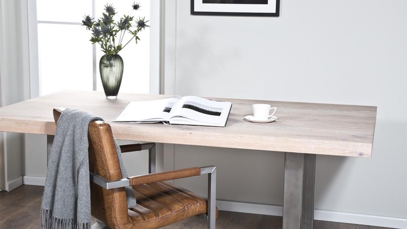 scrivanie per ufficio minimal poltrona pelle
