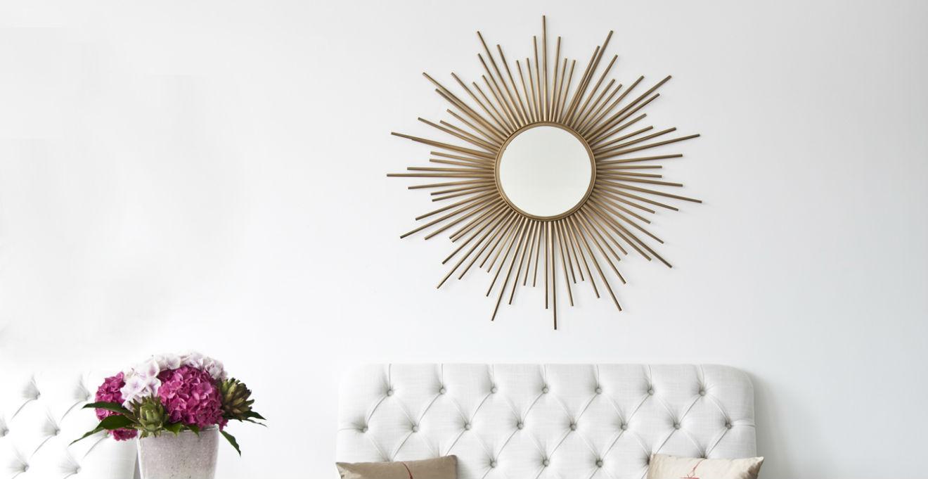 Specchio con cornice barocca eleganza classica dalani e - Specchio con cornice dorata ...