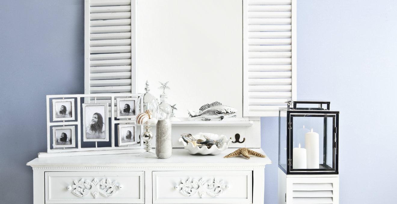 consolle con specchio: il dettaglio per ogni stanza | dalani - Toilette Provenzale Con Specchio E Sgabello