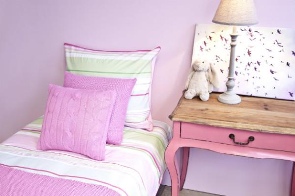 copriletto e lenzuola per bambini