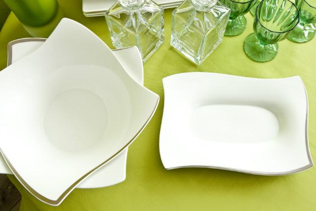 Servizio di piatti quadrati per opere d 39 arte culinarie - Servizio piatti design ...