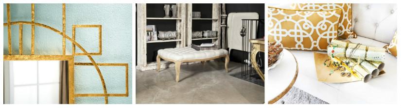 camera da letto in stile barocca specchio cuscini