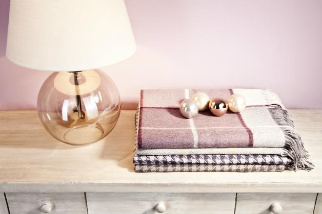 colore rosa antico camera da letto