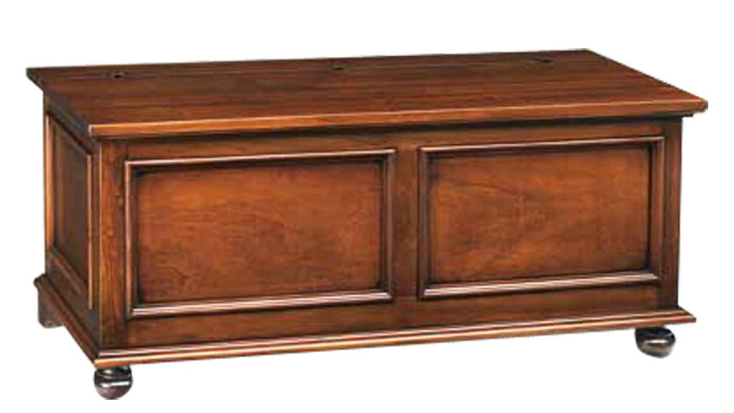 cassapanca in arte povera legno massello
