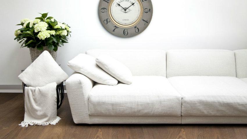 Copridivani stile e comfort in soggiorno westwing - Copridivano stile provenzale ...