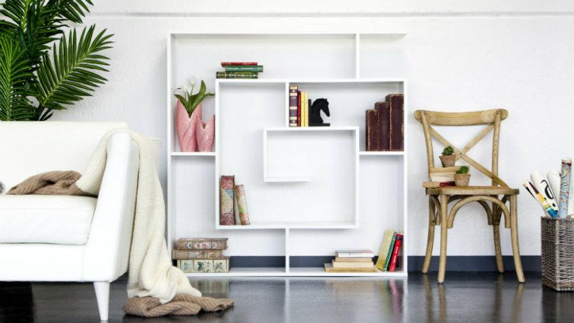 fermalibri per mensole libreria divano sedia