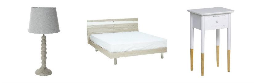 idee per arredare la camera da letto letto lampada comodino