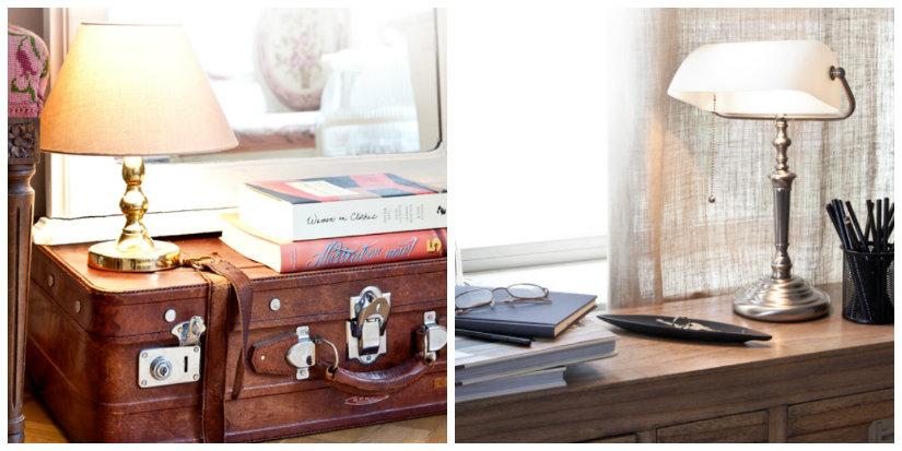 lampade da tavolo antiche lampade antiche scrivania valigia penne