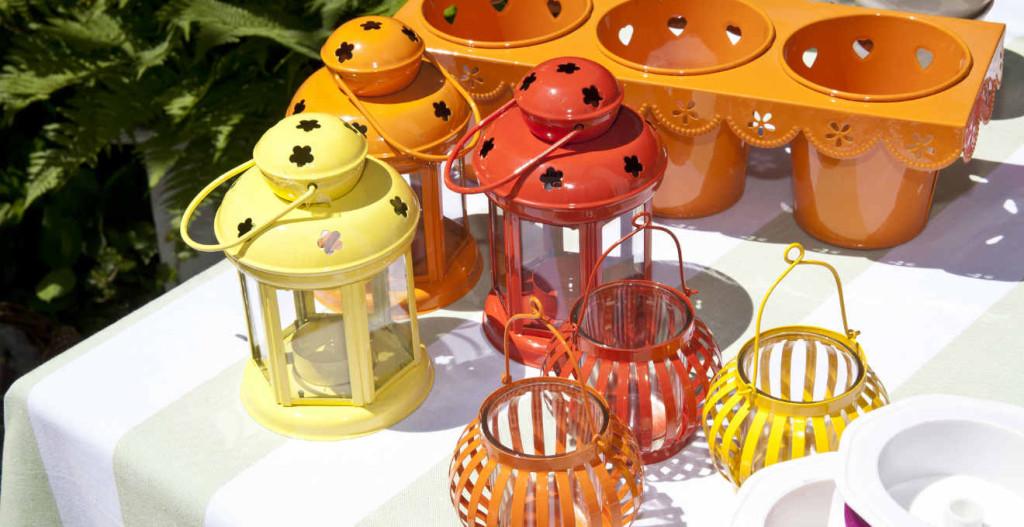 Lanterne in metallo