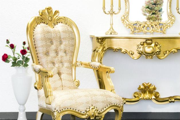 Camera da letto in stile veneziano: lusso retrò  DALANI