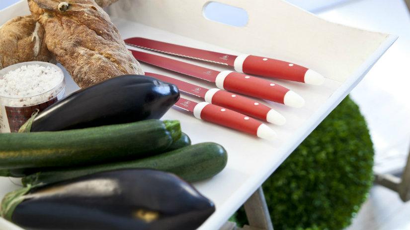 passaverdure coltelli tagliere melanzane zucchine