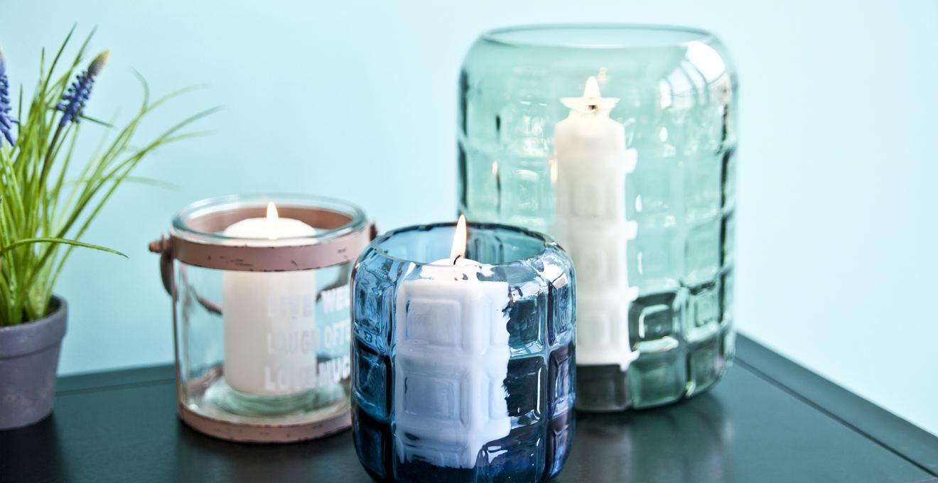 Westwing portacandele in vetro romantiche atmosfere - Lanterne portacandele ...