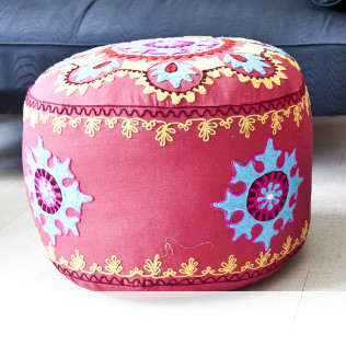 Pouf colorati