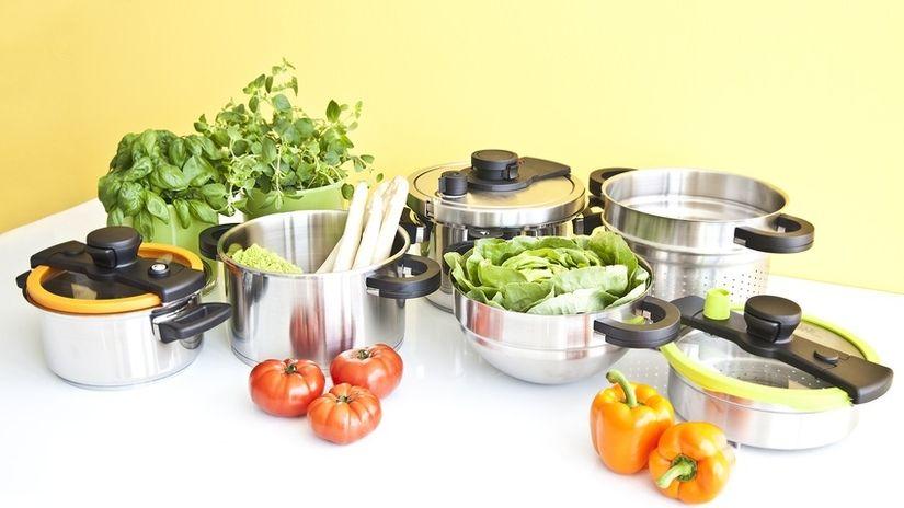 sottopentola in sughero cucina verdure pentole
