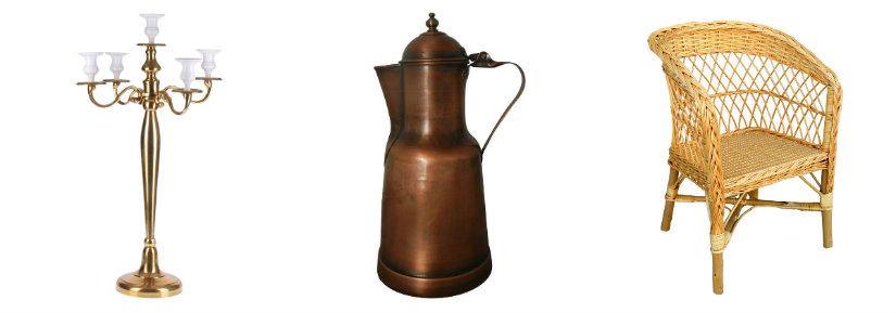 tavernetta rustica candelabro caffettiera poltrona