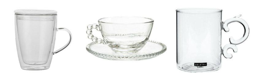 tazze in vetro
