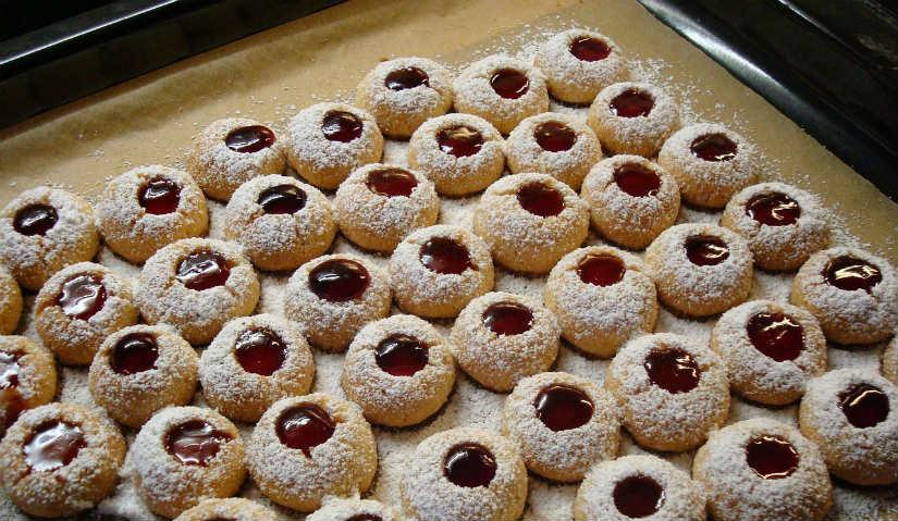 teglie da forno dolcetti biscotti