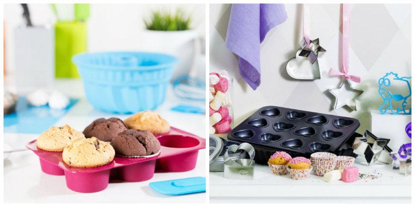 teglie da forno muffins stampini