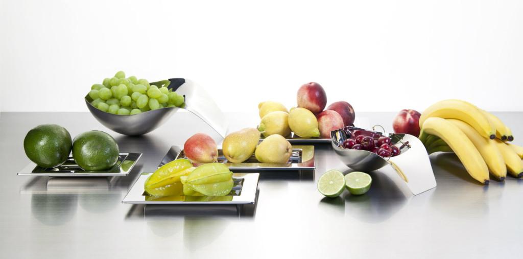 alzata per frutta