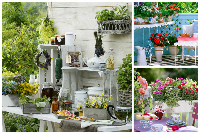 Arredare il giardino consigli di stile ed eleganza - Decorare lanterne ...