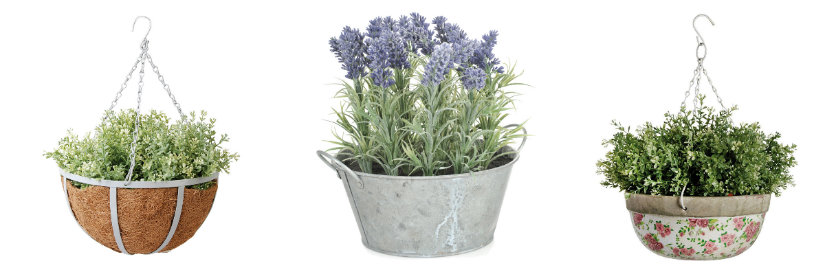 arredare il giardino vasi