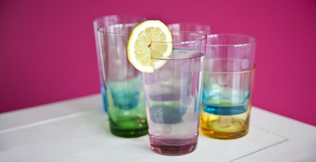 bicchieri da acqua